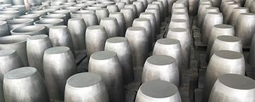 石墨坩埚的锻模的技术性特性